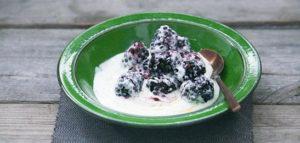 Honing Yoghurt met Bramen